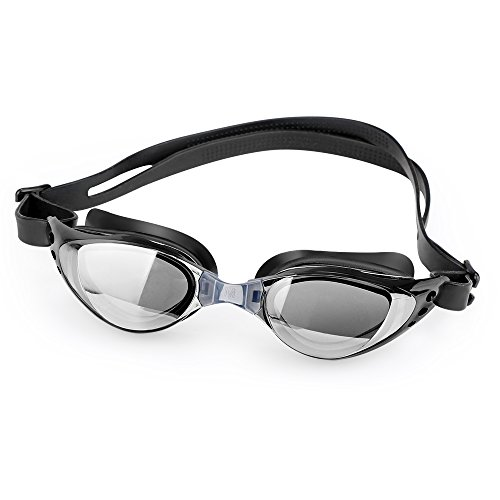Swim Goggles with FREE Protective Case