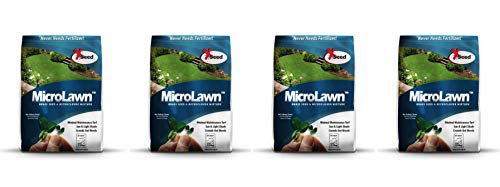 X-Seed 440AS0135UCT-5 MicroLawn Grass & Micro-Clover Mixture 5 White (Fоur Paсk)