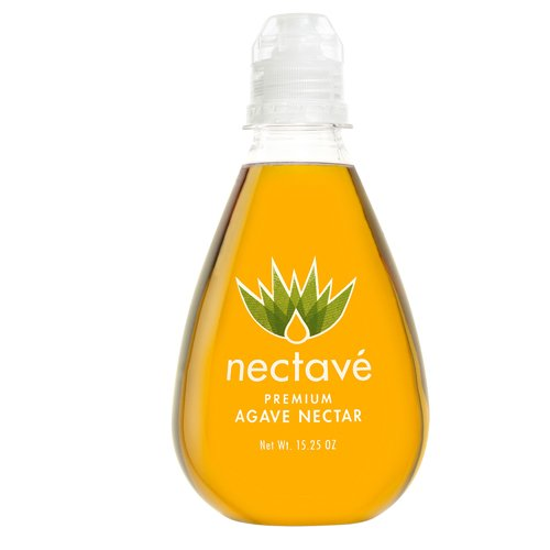 Nectave - Organic Agave Nectar, Tear Drop Bottle - 15.25 Oz (Pack of 6) by Nectave