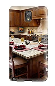 Perfect Kitchen Island With Seating Case Cover Skin For Galaxy Note 3 Phone Case
