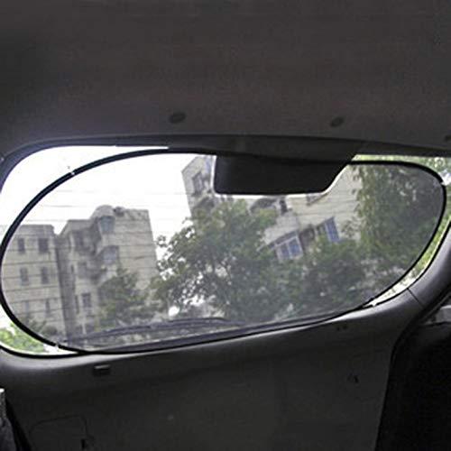 50 cm Negro Parasol del Coche Todo Negro Malla de la Ventana Trasera Engranaje Trasero Nylon Malla Parasol del Coche Parasol Reflector Protector 100
