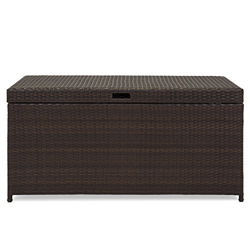 Extra Large Wicker Storage bin for Indoor and Outdoor Use +eBook by eXXtra Store