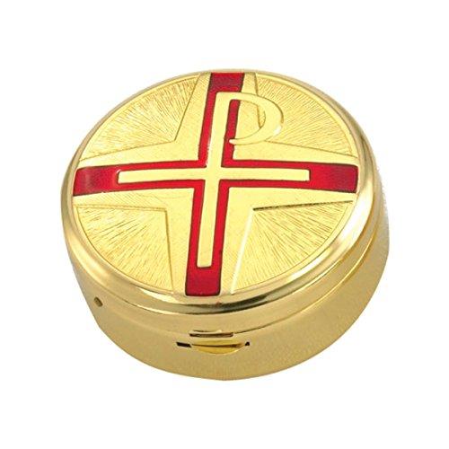 - Pyx with Chi Rho Symbol, Red