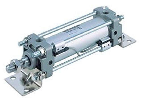 (SMC CDA2B80-150-A54S Tie Rod Air Pneumatic Cylinder, Non Lube, with A54S Switch)