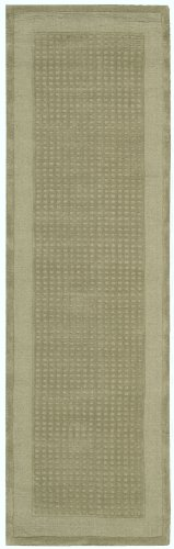 "Nourison Westport (WP20) Sage Runner Area Rug, 2-Feet 3-Inches by 7-Feet 6-Inches (2'3"" x 7'6"")"