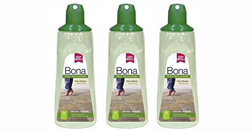 ((3 Pack) Bona Stone, Tile & Laminate Floor Cleaner Cartridge, 34 oz)