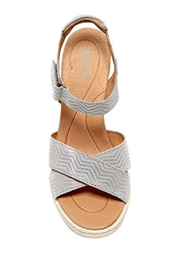 Sandale Compensée Coltyn Née, Gris Clair 9