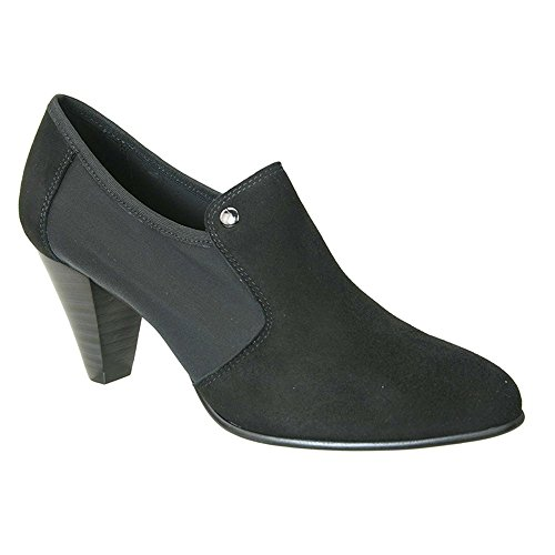 David Tate Women's Topaz Bootie,Black Kidskin Suede,US 9 ()