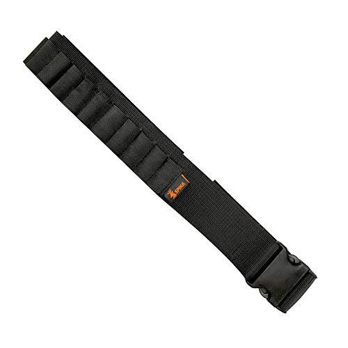 - SPIKA Shotgun Shell Belt 12 Gauge Ammo Holder 25 Rounds Hunting Adjustable Length