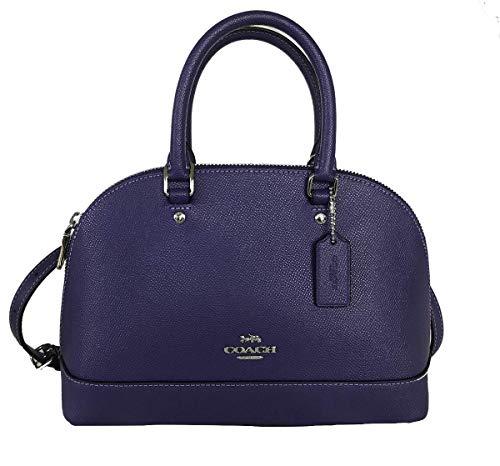 Purple Coach Handbag - 1
