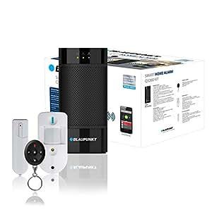 Blaupunkt Q3200 - Kit Alarma Inteligente IP. Incluye Cámara de verificacion, sensor de movimiento, entre otros. SIN CUOTAS MENSUALES, APP gratis, 100% inalámbrica, fácil de instalar