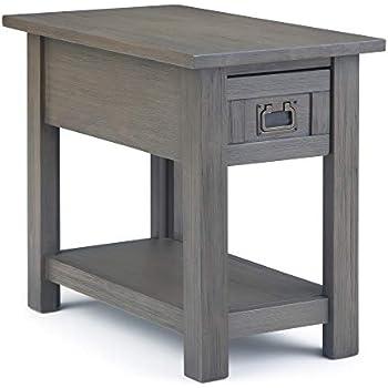 Sauder Carson Forge Side Table Coffee Oak