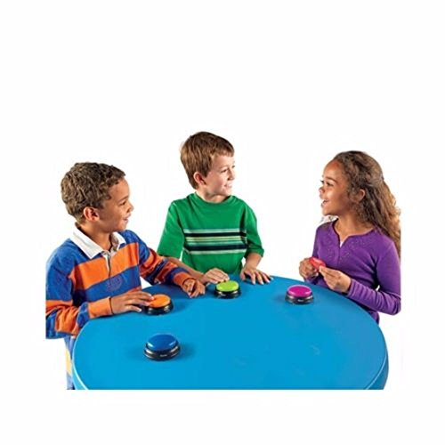 1 Game Answer Buzzer for Kids Classrooms Game Show Sound ...