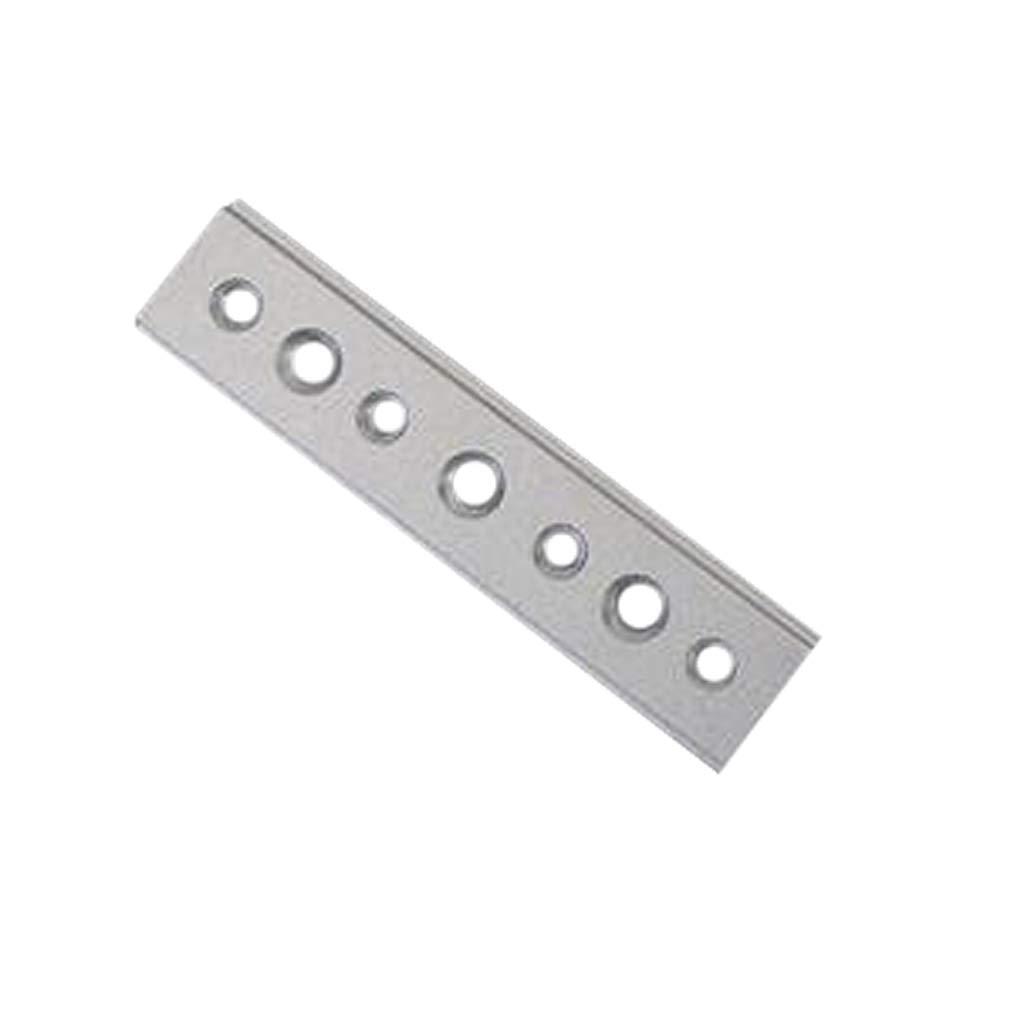 passend f/ür 30//45 Typ 100 mm B Blesiya Gehrungsschiene aus Aluminiumlegierung T-Track Holzbearbeitung T-Nut