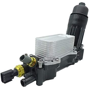 engine oil filter adapter housing,oil cooler for 2014-2017 jeep dodge  chrysler ram 3 6 v6 68105583af