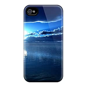 Iphone 4/4s Case, Premium Protective Case With Awesome Look - Sky And River