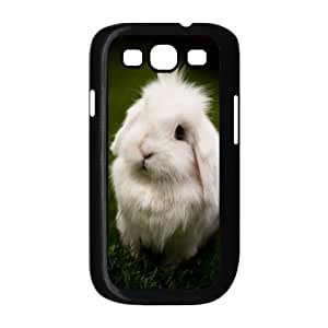 YNACASE(TM) Rabbit Personalized Hard Back Cover Case for Samsung Galaxy S3 I9300,Custom Phone Case with Rabbit