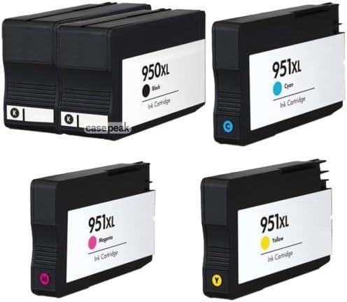 5 Pack HP 950 X L 951 X L Cartuchos de tinta para Officejet Pro 8100 200 8600 con Chip: Amazon.es: Oficina y papelería