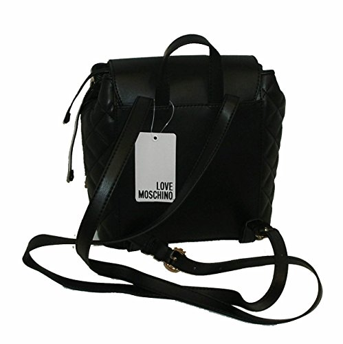 Borsa Zaino Love Moschino Jc4023 Pp15 Trapuntata Women Handbag Backpack Nero