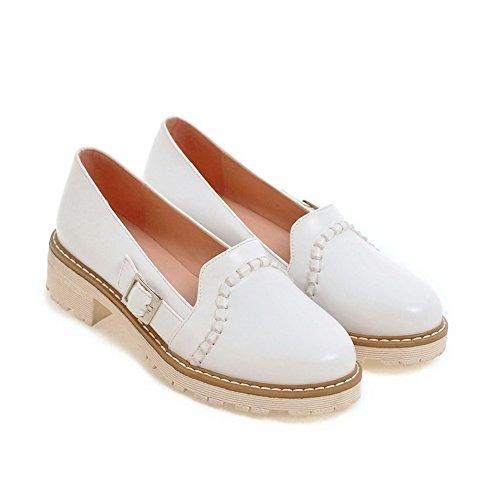 Balamasa Damesschoenen Plateau Gesp Urethaan Dames-schoenen Wit