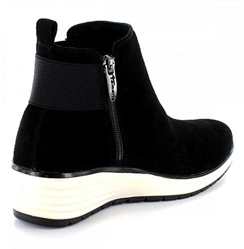 Tamaris1-1-25825-35/001 - Botas Chelsea Mujer negro