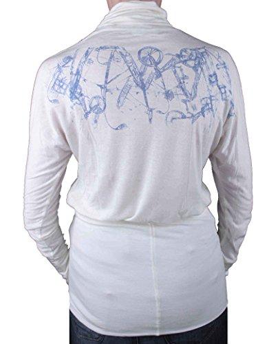 Diesel femmes Shirt à manches longues à col roulé elbaso crème #10