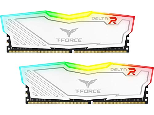 Team 8GB (2 x 4GB) T-Force Delta II RGB Series DDR4 PC4-24000 3000MHz Desktop Memory Model TF4D48G3000HC16CDC01