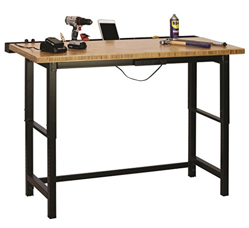 Muscle Rack WB362460 5'. Bamboo Top Workbench, 36
