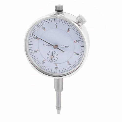 COMPARATORE Indicatore di lettura 0-90-0 precisione 0,01 millimetri tono Argento