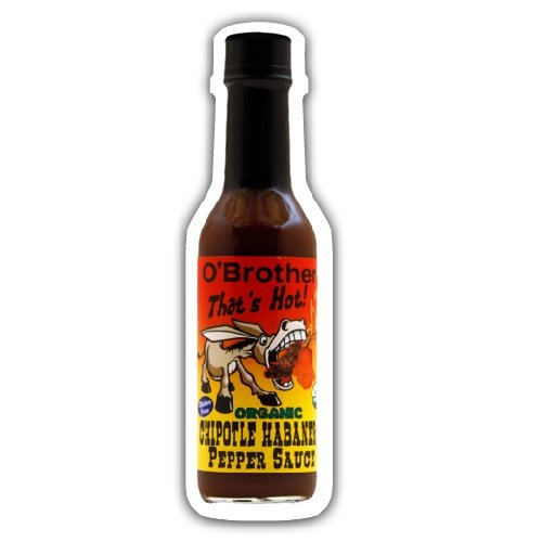 O Brothers, Sauce Pepper Chipotle Habanero Organic, 5 Ounce