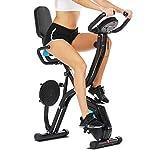 41%2BUYBU7BnL. SS150 EVOLAND Mini Cyclette da Casa, Esercitatori Pedaliera Cyclette Fitness per Braccia e Gambe Pedaliera Regolabile Digitale Mani e Piedi Pedale con LCD Display