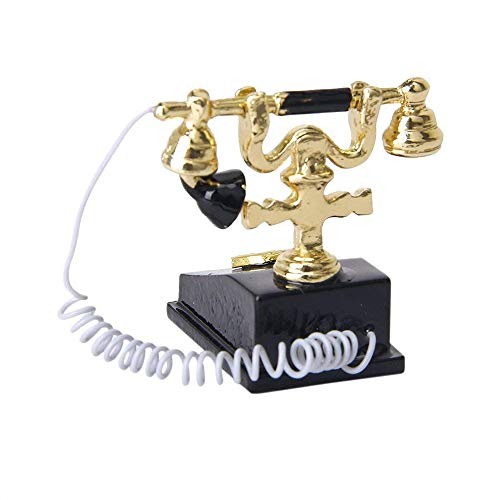 Used, Potelin Dollhouse Retro Telephone Miniature Phone Vintage for sale  Delivered anywhere in USA