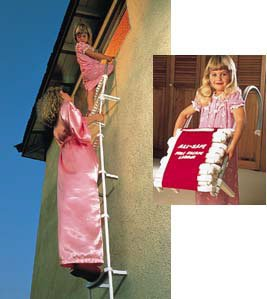3-Story Fire Escape Ladder