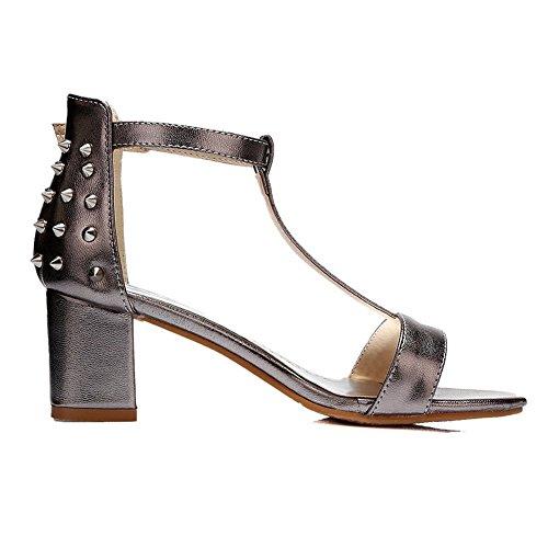 Ladies metallic Sequins Adee Solid Sandals Polyurethane 78dwfAwq