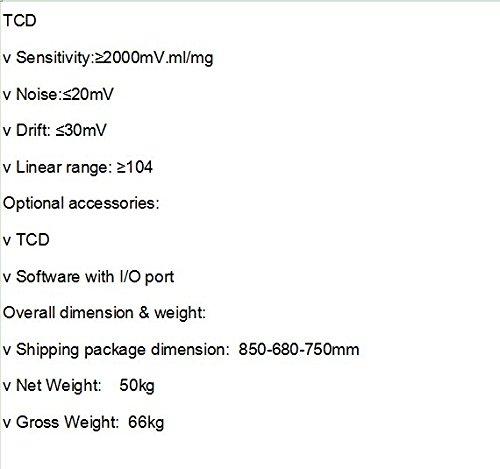 GOWE FID TCD equipado arremetida con operación fácil: Amazon ...