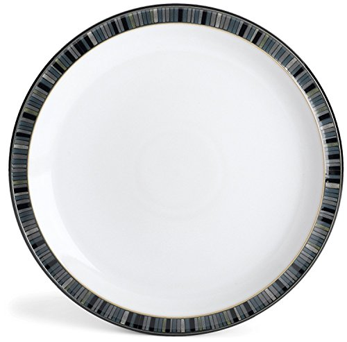 Denby Jet Stripes - Denby Jet Stripes Dinner Plate, Set of 4