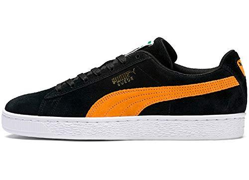 Suede Pop Zapatillas Negro puma Classic orange Unisex Black Adulto Puma WzZgnHzU