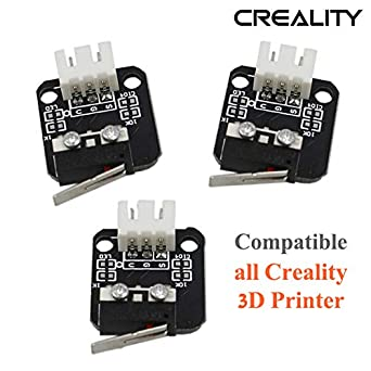 Creality 3pcs/Lots Limit Switch 3D Printer Part for CNC 3D Printer RepRap Makerbot Prusa Mendel RAMPS 1.4 Board Ender 3 CR-10S Series