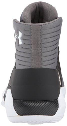 White Under Shoe 4 Men's Basketball Black Drive Team 001 Armour wxFz6S