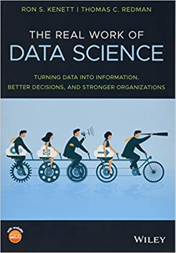 Amazon com: The Real Work of Data Science: Turning data into