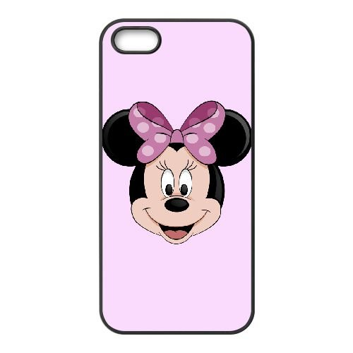Minnie Mouse iPhone 5 5s Cell Phone Case Black SH6108690