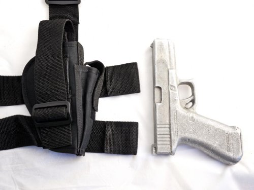 Outbags OB-16TAC (LEFT) Nylon Tactical Drop Leg Holster with