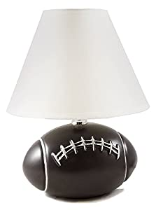 Amazon football plug in sports table lamp home kitchen football plug in sports table lamp mozeypictures Choice Image
