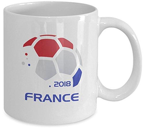 er Team French Football Fan Coffee Mug & Tea Cup Ceramic White 11oz ()