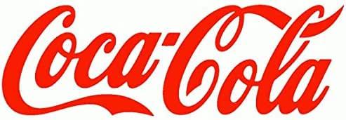 Coca-Cola – Adhesivo recortado preespaciado – Color rojo – 10 cm: Amazon.es: Coche y moto