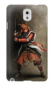 S0796 Japan Red Samurai Case Cover for Samsung Galaxy Note 3