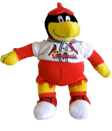 (Forever Collectibles MLB St. Louis Cardinals 8 Plush Mascot)