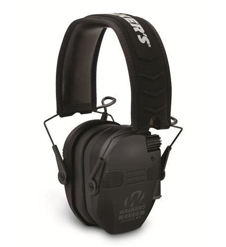 Walker's Razor Quad Electronic Bluetooth Muff-Black