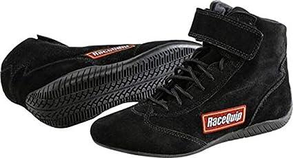 RaceQuip 30500110 Euro Carbon-L Series Size 11.0 Black SFI 3.3//5 Racing Shoes