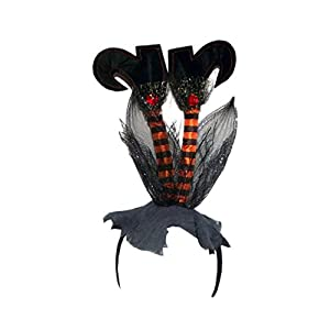 180 Degrees Grounded Witch Halloween Headband, One Size